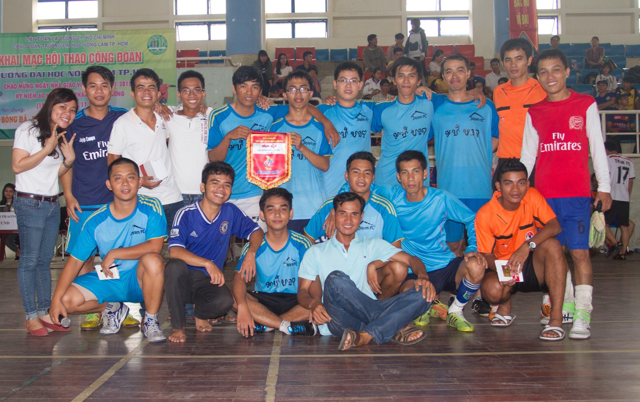 Đội vô địch: Jayam FC