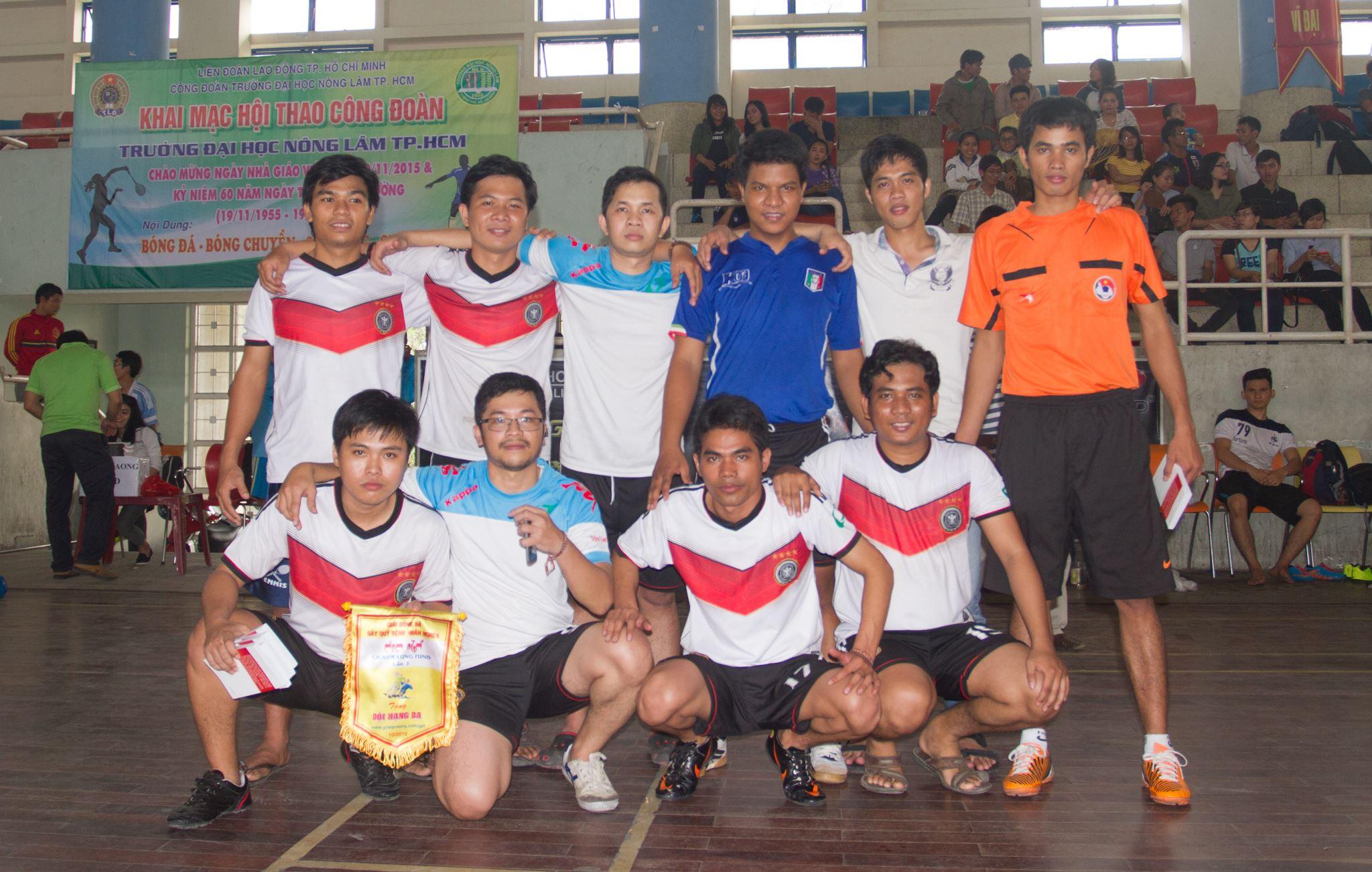Đội hạng ba: TKVN