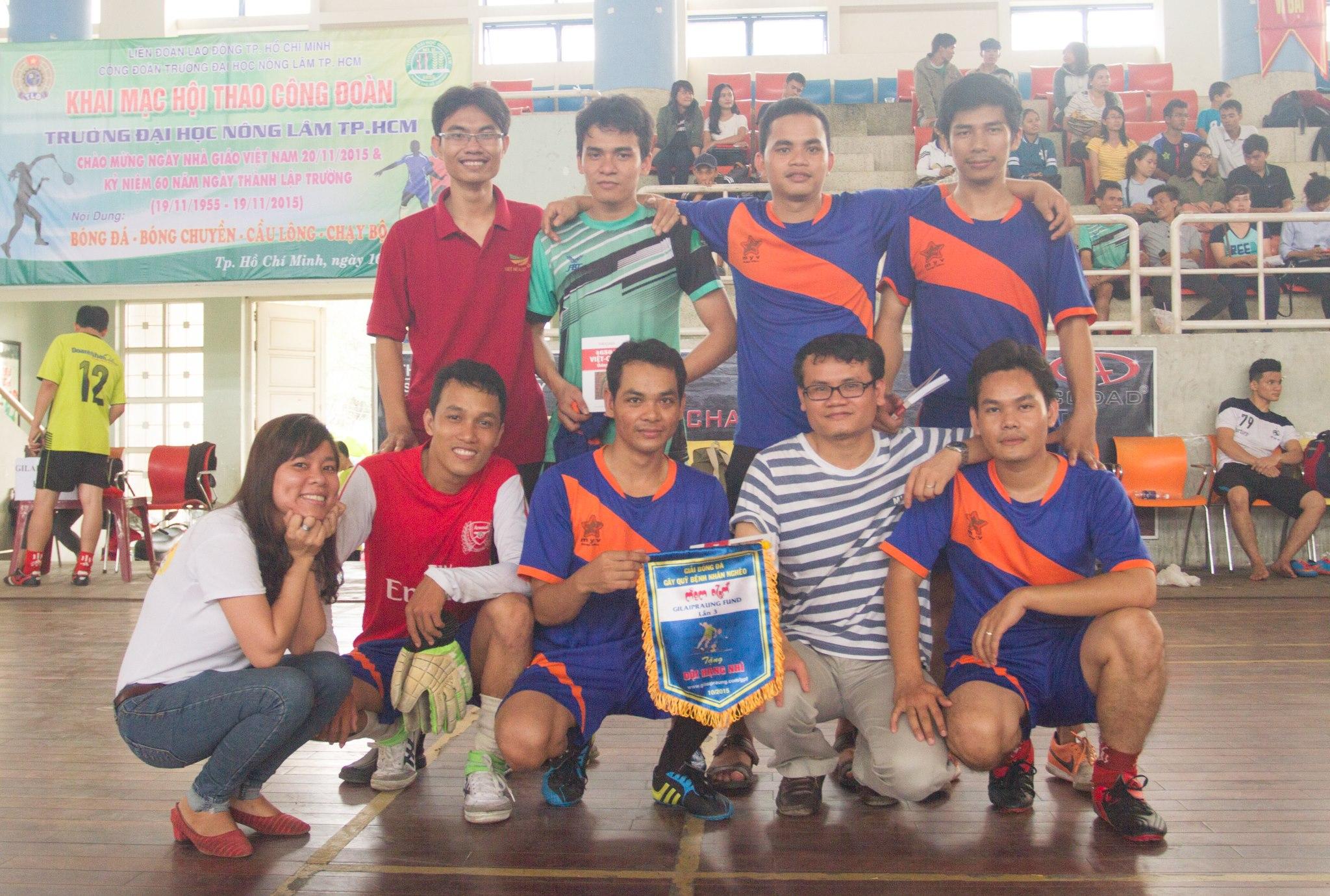Đội hạng nhì: MYV - ATK